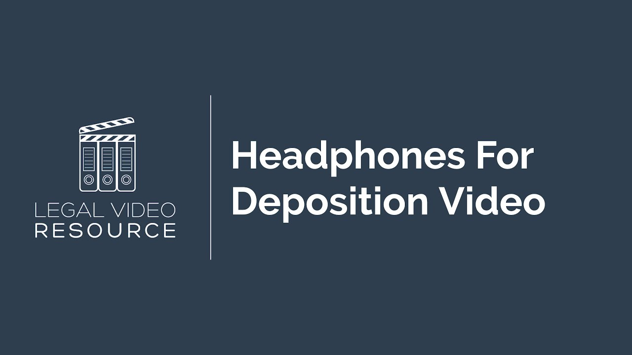 Headphones-For-Deposition-Video